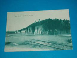 Tunisie ) Afrique Du Nord - Mateur - La Gare Du Sud - Année  : EDIT : Albert - Tunisie