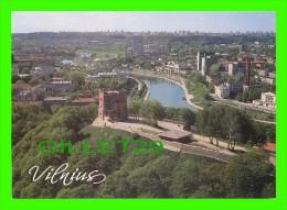 VILNIAUS, LITUANIE, VILNIUS  - MIESTRO PANORAMA - VIEW OF THE CITY - FOT. J. JAKIMAVICIUS , 1990 - MINTIS - - Lituanie