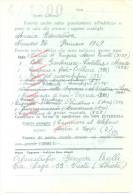 CEDOLA PER COMMISSIONI LIBRARIE - LIBRERIA MUSICALE LITURGICA C. CASIMIRI ROMA A ORFANATROFIO GENOVIA RUILLI CHIETI - 1946-60: Marcophilia