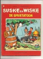 Suske En Wiske DE SPRIETATOOM N°107 Par Willy Vandersteen Editions Standaard Uitgeverij De 1982 - Suske & Wiske