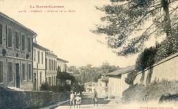 Pibrac - LAvenue De La Gare - Verfeil