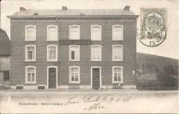 TROIS-PONTS : Hotel Crismer - RARE VARIANTE - Cachet De La Poste 1907 - Trois-Ponts