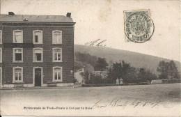 TROIS-PONTS : Promenade De Trois-ponts à COO Par Le Bois - RARE CPA - Cachet De La Poste 1907 - Trois-Ponts