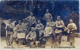 Attichy – Carte-Photo, Aout 1915 – En Campagne ( 17ème Territorial ) - Andere Gemeenten