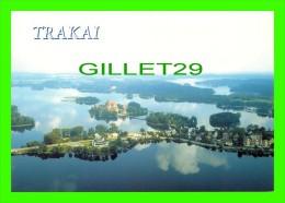 TRAKAI, LITUANIE - MIESTRO APYLINKIU PANORAMA - VIEW OF THE CITY & SURROUNDINGS - PALETTI - - Lituanie