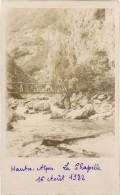 Carte-Photo Hautes-Alpes, La Chapelle ( Pont ) - Autres Communes