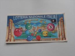 LOTTERIA NAZIONALE ITALIA 1996 - Pubblicitari