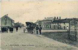 Pauvres – 1 Place Et école ( Attelage ) - France