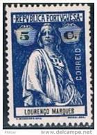 Lourenço Marques, 1914, # 123, MH - Lourenco Marques