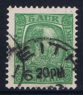 ICELAND: Mi Nr 37 Used 1902  Scotland UK  Cancel Leith - 1873-1918 Dänische Abhängigkeit