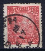 ICELAND: Mi Nr 39 Used 1902  Scotland UK  Cancel Leith - 1873-1918 Dänische Abhängigkeit