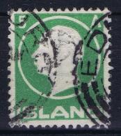 ICELAND: Mi Nr 69 Used 1912  Cancel  Scotland UK   EDENBURUGH - 1873-1918 Dänische Abhängigkeit