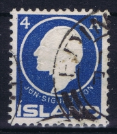 ICELAND: Mi Nr 65 Used 1911  Cancel  Scotland UK   EDENBURUGH - 1873-1918 Dänische Abhängigkeit
