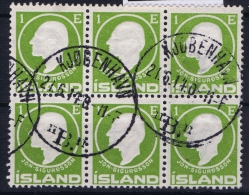 ICELAND: Mi Nr 63   Used   Cancel  Denmark Kopenhagen Copenhagen  6-block - 1873-1918 Dänische Abhängigkeit