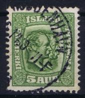 ICELAND: Mi Nr 51  Used   1907 Cancel  Denmark Kopenhagen Copenhagen - 1873-1918 Dänische Abhängigkeit