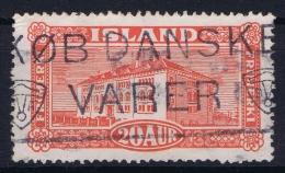 ICELAND: Mi Nr 116  Used   1925 Cancel  Denmark - 1918-1944 Unabhängige Verwaltung