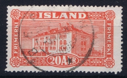 ICELAND: Mi Nr 116  Used   1925 Cancel  Norway Bergen - 1918-1944 Unabhängige Verwaltung