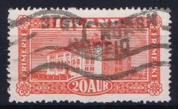 ICELAND: Mi Nr 116  Used   1925 Cancel  Norway Norsk - 1918-1944 Unabhängige Verwaltung