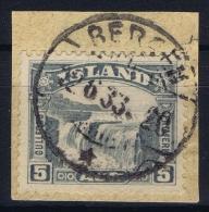 ICELAND: Mi Nr 150  Used  1931 Cancel  Norway Bergen - 1918-1944 Unabhängige Verwaltung