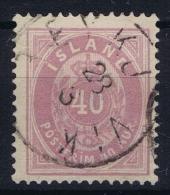ICELAND: Mi Nr 15 Used  1882 - 1873-1918 Dänische Abhängigkeit