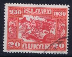 ICELAND: Mi Nr 130  Used  1930 - 1918-1944 Unabhängige Verwaltung