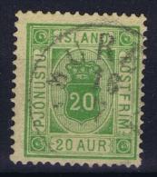 ICELAND: Mi Nr Dienst 7 A Used - Dienstpost