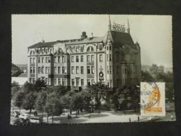 Carte Postale Belgrade Hotel Moscou 1962 - 1945-1992 République Fédérative Populaire De Yougoslavie