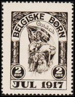 1917. BELGISKE BØRN JUL 1917 2 ØRE. (Michel: ) - JF191734 - Non Classés