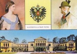 Bad Ischl - Kaiservilla - Kaiser Franz Josef Kaiserin Elisabeth - Bad Ischl