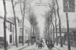 CPM Blain Avenue De La Gare - Blain