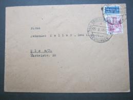 1949 ,  GROSSENGSTIGEN  über  Reutlingen, Klarer   Stempel ( Sondertype )auf Brief - Französische Zone
