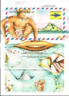 1998  Polynésie Française  N°  10   Nf** . Aérogramme 90 F - Aérogrammes