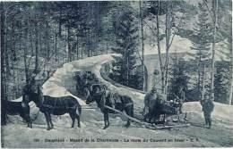 Massif De La Chartreuse – La Route Du Couvent En Hiver ( Attelage, Traineau ) - Non Classés