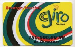 MOZAMBIQUE RECHARGE GIRO 150 000 MT Date 2003 - Mozambico
