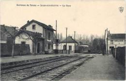 Environs De Reims – Isles Sur Suippe – La Gare - France