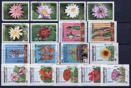 Kampuchea Small Selection Of Fine Used Modern Stamps. - Kampuchea