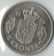 5 KRONE FROM 1978 - Dänemark