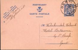 Briefkaart - Postkaart Verleye Frans -  Politieke Gevangenen Gent - 1944 - Cartes Postales [1934-51]