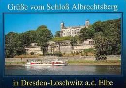 Grusse Vom Schloss Albrechtsberg In Dresden Loschwitz A. D. Elbe - Non Classés