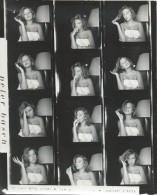 5 Planches  Contact/Photos D´Agence/Annette STROYBERG/( Madame VADIM)/1957- 1958  PHOTN115 - Personalidades Famosas