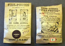 Pochettes De Coins Pour Fixer Les Photos FIXE PHOTOS - Matériel & Accessoires