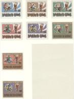 BURUNDI Perforated Set Mint Without Hinge - Coppa Del Mondo