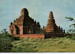 Burma - Pagan - Seinnyet Nyi-Ama Temples - Myanmar (Burma)