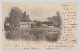 CPA 78 Yvelines Chatou Une Ferme Dans L'île Hingre éditeur, Près Rueil Malmaison Nanterre Montesson Croissy - Chatou