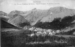 MONTMAUR - Maisons Forestières Des Sauvas Massif D'Aurouze Pic De Bure - Autres Communes