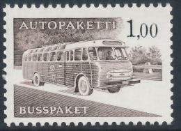 FINLAND/Finnland 1963 Post Bus/Autobus 1.00 Phosphorescent Paper**MNH