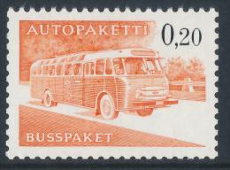 FINLAND/Finnland 1963 Post Bus/Autobus 0,20 Phosphorescent Paper**MNH