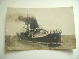 REGIA NAVE NAPOLI   SHIP  REGIA  MARINA  MILITARE  WARSHIP  NON  VIAGGIATA  FORMATO PICCOLO FOTOGRAFICA - Guerra