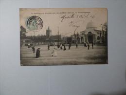 Exposition Coloniale   Côté Est  La Grande Esplanade - Zonder Classificatie