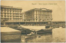 NAPOLI    Hotel Vesuvio E Santa Lucia - Italy - Napoli